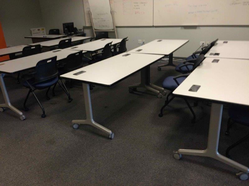 Training Tables Orange County Cube Designs