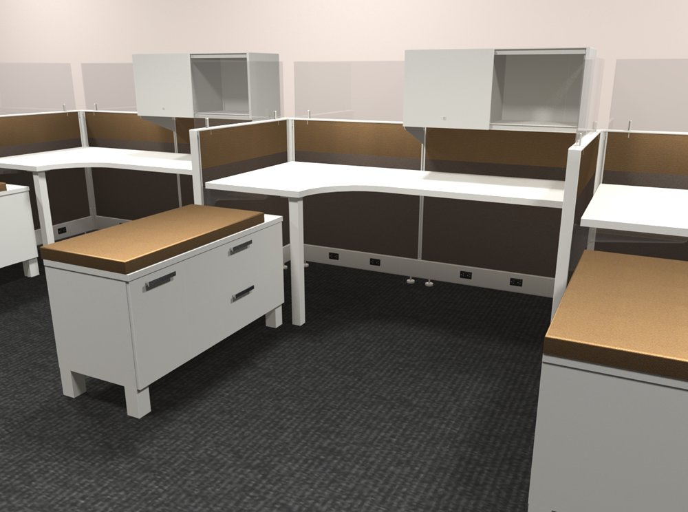 cubicles orange county office furniture cube designs